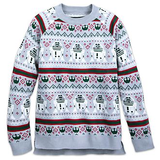Disney Store Star Wars Men's Festive Jumper