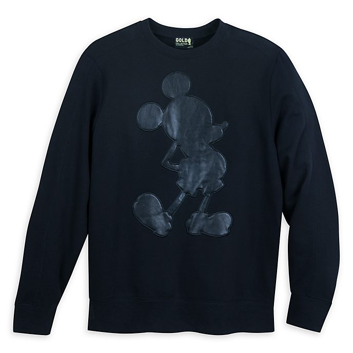 Disney Store Mickey Mouse Gold Collection Men's Sweatshirt