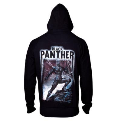 Black Panther Men's Hooded Sweatshirt