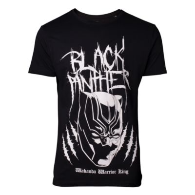 T-shirt Black Panther homme