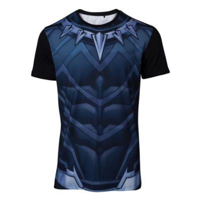 T-shirt ajusté Black Panther homme