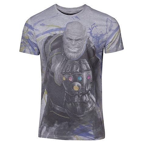 Camiseta Thanos para hombre, Vengadores. Infinity War