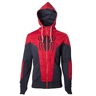 Felpa uomo con cappuccio Spider-Man