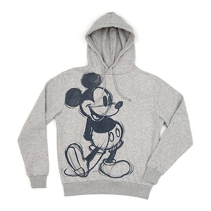 Disney Store Sweatshirt Mickey Mouse à capuche pour adultes