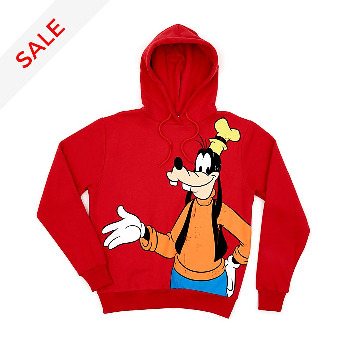 Disney Store Goofy Hooded Sweatshirt For Adults