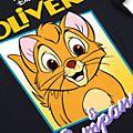 Disney Store T-shirt Oliver & Cie pour adultes