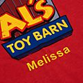 Disney Store Al's Toy Barn T-Shirt For Adults, Toy Story