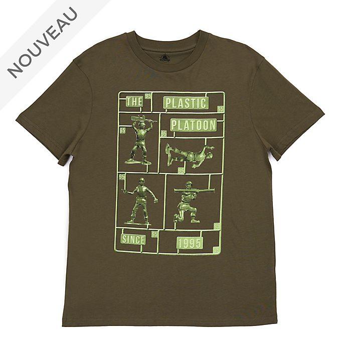 Disney Store T-shirt Petits soldats verts pour adultes, Toy Story