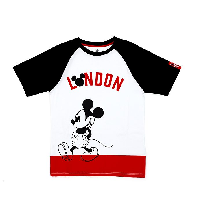 Disney Store Mickey Mouse London T-Shirt for Adults