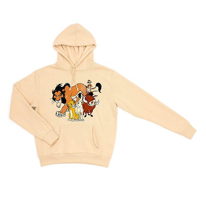 Felpa con cappuccio adulti Il Re Leone Disney Store