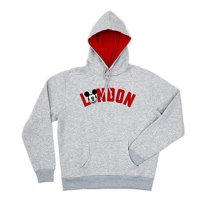 Disney Store Sweatshirt à capuche Mickey Londres pour adultes