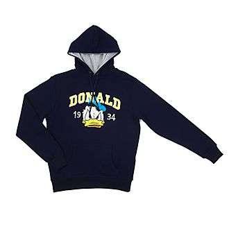 Disney Store Donald Duck Hooded Sweatshirt For Adults