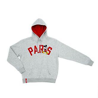 Disney Store Sweatshirt à capuche Mickey Paris pour adultes