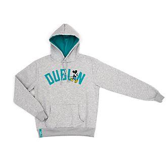 Sudadera con capucha Dublin Mickey Mouse para adultos, Disney Store