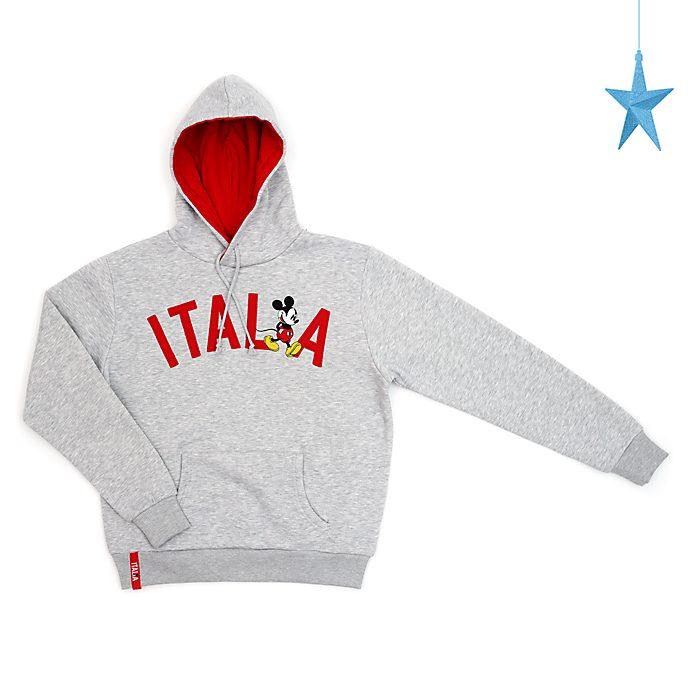Disney Store Sweatshirt à capuche Mickey Italie pour adultes