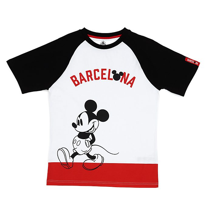 Camiseta Barcelona Mickey Mouse para adultos, Disney Store