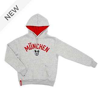 Disney Store Mickey Mouse München Hooded Sweatshirt For Adults