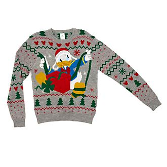 Disney Store Donald Duck Share the Magic Christmas Jumper For Adults