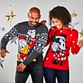 Disney Store Donald Duck Holiday Cheer Christmas Jumper For Adults