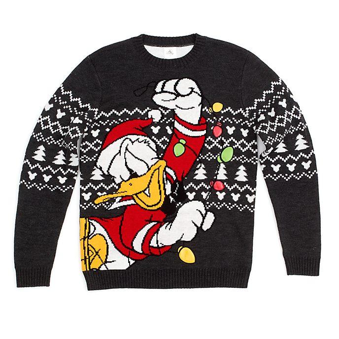 Jersey navideño pato Donald para adultos, Holiday Cheer, Disney Store