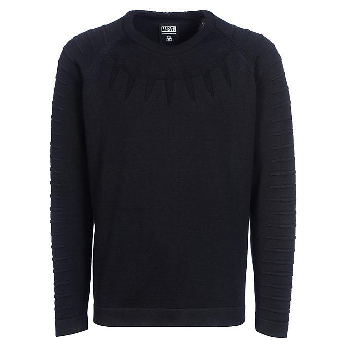 Musterbrand Sweatshirt Black Panther ras-du-cou pour adulte