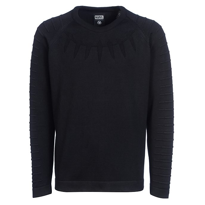 Musterbrand Black Panther Adults' Crewneck Jumper