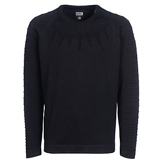 Musterbrand Sweatshirt Black Panther ras-du-cou pour adulte