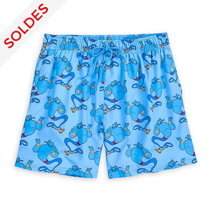 Disney Store Short de bain Le Génie pour adultes, collection Oh My Disney