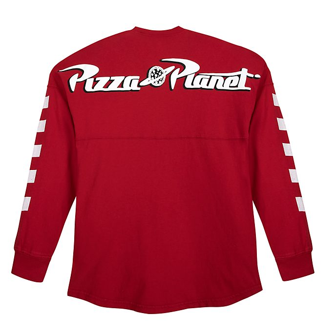 Sudadera universitaria Pizza Planet para adultos, Spirit Jersey, Toy Story, Disney Store