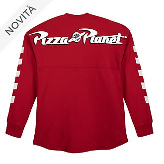 Felpa Spirit Jersey adulti Pizza Planet Toy Story Disney Store