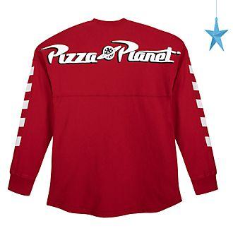Sudadera universitaria Pizza Planet para adultos, Spirit Jersey, Toy Story, Disney Store