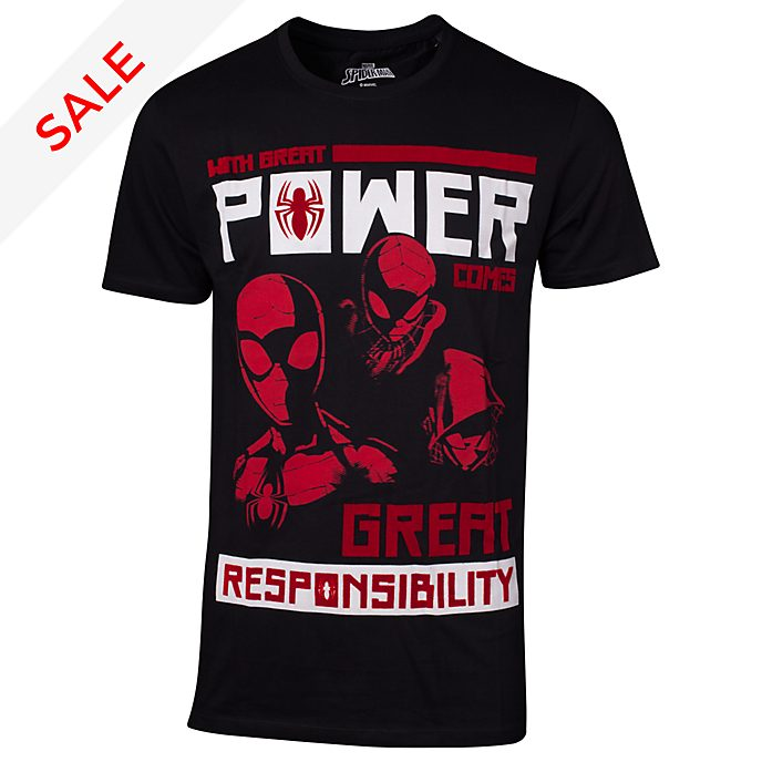 Spider-Man - Power Vs Responsibility - T-Shirt für Herren