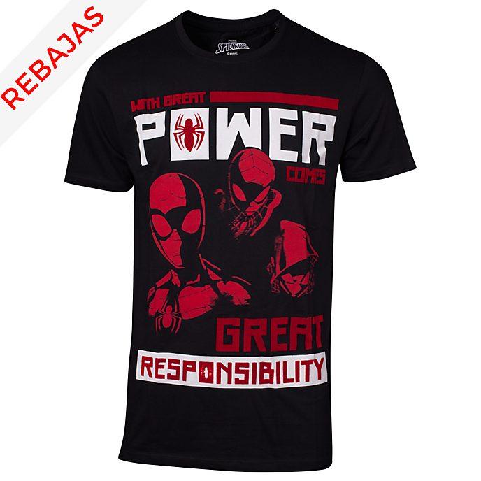 Camiseta poder y responsabilidad para hombre, Spider-Man