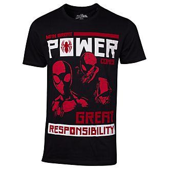 """T-shirt Spider-Man """"Grand pouvoir, grandes responsabilités"""" pour hommes"""