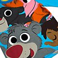 Pijama infantil El Libro de la Selva, Furrytale Friends, Disney Store