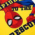 Disney Store Spider-Man Shortie Pyjamas