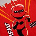 Pigiama corto bimbi Flash Gli Incredibili 2 Disney Store