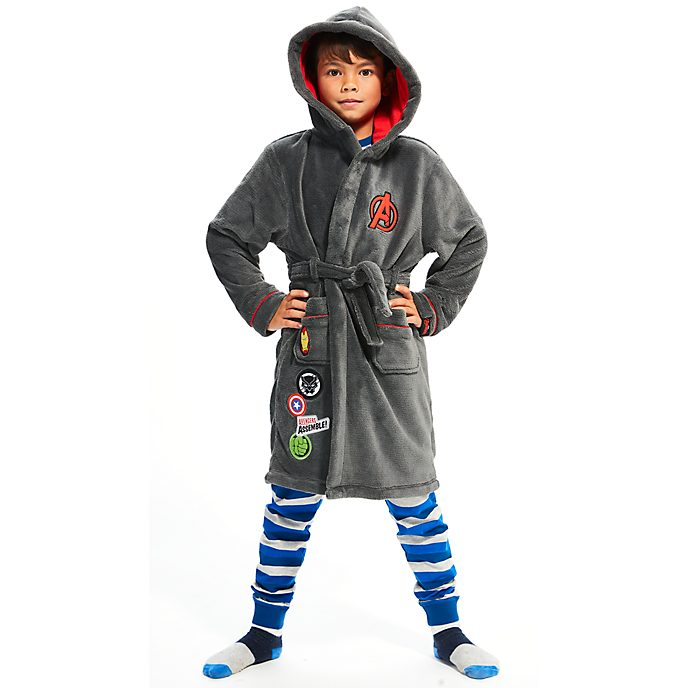Disney Store Avengers Dressing Gown For Kids