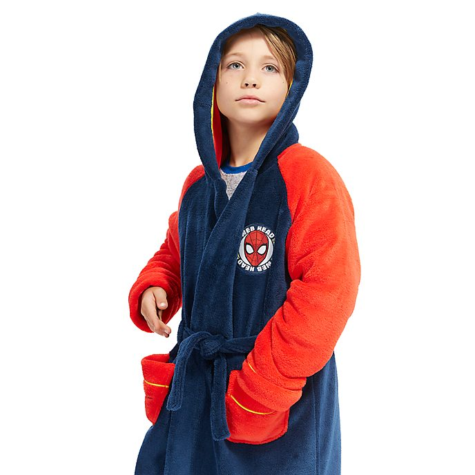 Disney Store Spider-Man Dressing Gown For Kids