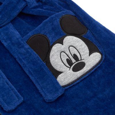 Robe de chambre à capuche pour enfants Mickey Mouse