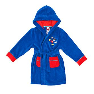 Disney Store Mickey Mouse Dressing Gown For Kids