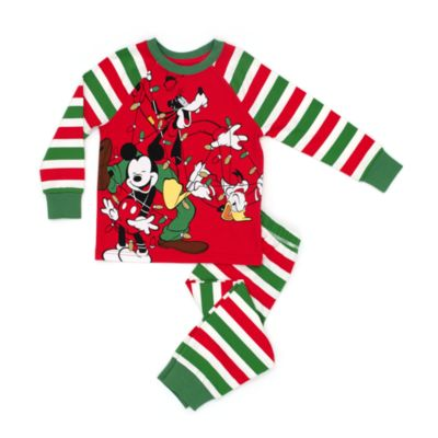 Share the Magic Mickey Mouse Festive Pyjamas for Kids