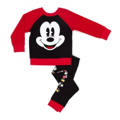 Mickey Mouse Fleece Pyjamas For Kids
