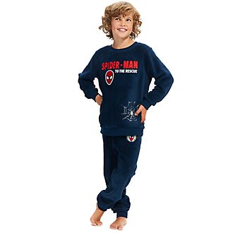 Disney Store Spider-Man Fluffy Pyjamas For Kids