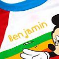 Disney Store - Micky Maus - Gestreifter Pyjama für Kinder