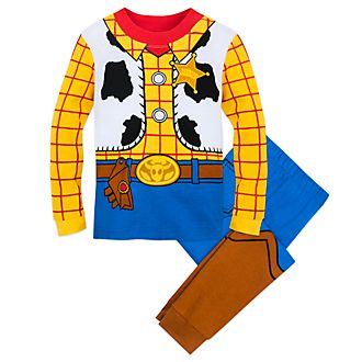 Disney Store Woody Costume Pyjamas For Kids