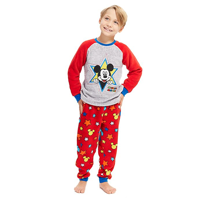 Disney Store Mickey Mouse Classic Fluffy Pyjamas For Kids