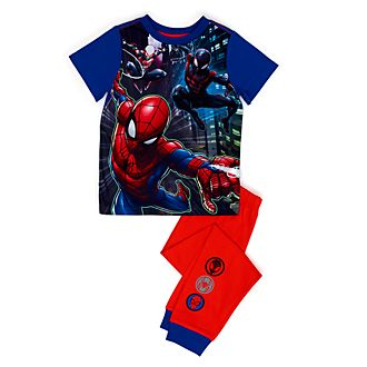 Disney Store Spider Man Into The Verse Pyjamas For Kids