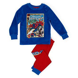 Disney Store Spider-Man Soft Feel Pyjamas For Kids