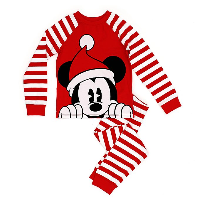 Pijama infantil Mickey Mouse, Holiday Cheer, Disney Store